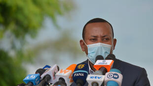 Ehiopian Prime Minister Abiy Ahmed, pictured last week at a tree-planting ceremony