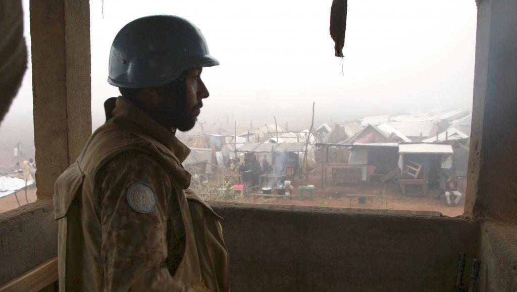 Soldat de la Minusca en Centrafrique (photo d'illustration).