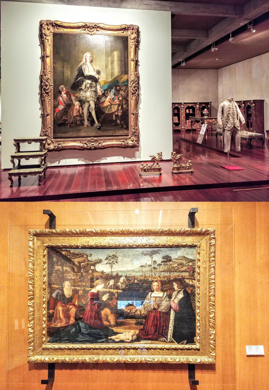 Ông Gulbenkian từng mua nhiều tác phẩm nghệ thuật Châu Âu từ Viện bảo tàng nổi tiếng Hermitage ở Saint Petersbourg