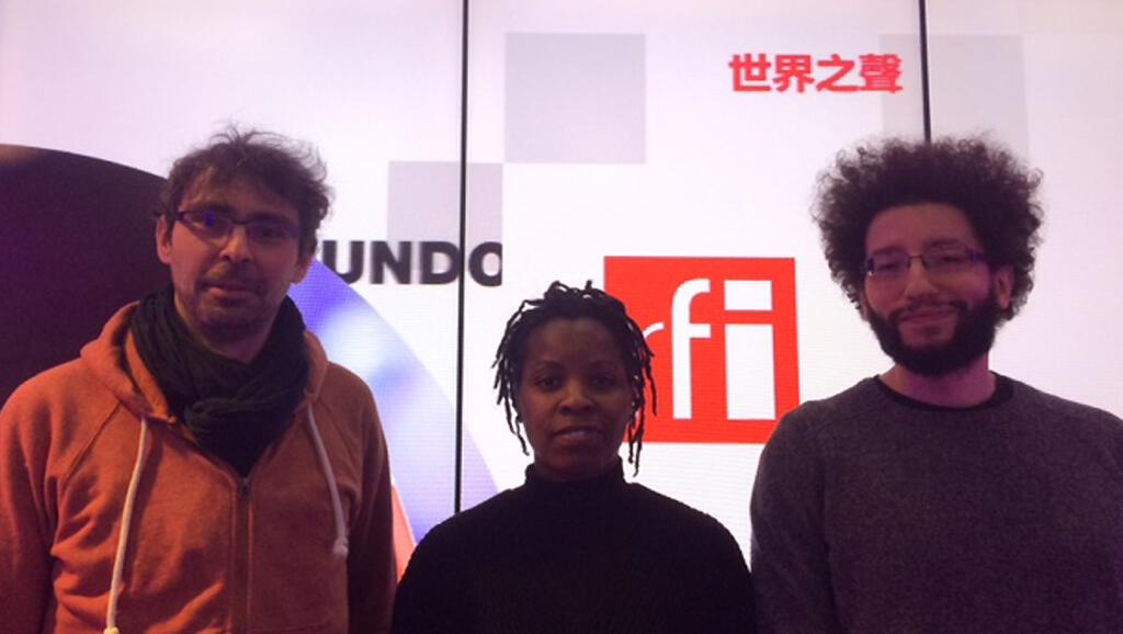 Mehdi Derfoufi, Christelle Ringuet et Pierre Cras.