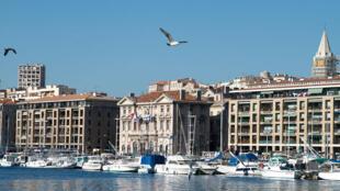 'Vieux Port' (viejo puerto) de Marsella.