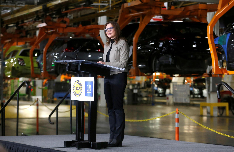 USA - PDG de General Motors Mary Barra