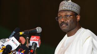 Shugaban hukumar zaben Najeriya mai zaman kanta INEC, farfesa Mahmoud Yakubu.