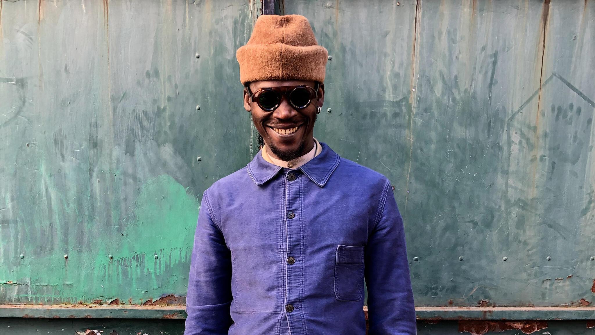 Peter Solo, chanteur du groupe togolais Vaudou Game.
