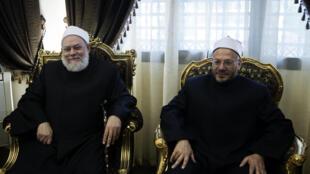 Le Grand mufti d'Egypte a dénoncé la nouvelle couverture du journal satirique français Charlie Hebdo, représentant le prophète Mahomet.