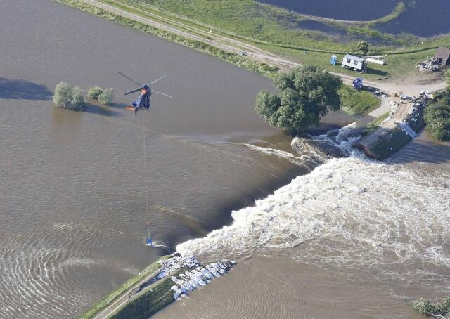 A Alemanha registrou as piores enchentes dos últimos dez anos. Danúbio atinge nível recorde.