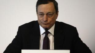 El presidente del BCE Mario Draghi.