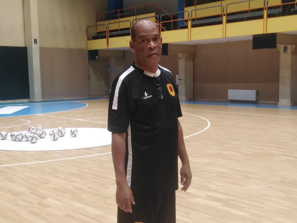 Rui Sampaio, treinador da Selecção angolana de futsal.