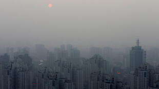 Pékin, un jour de forte pollution, le 20 septembre 2014.