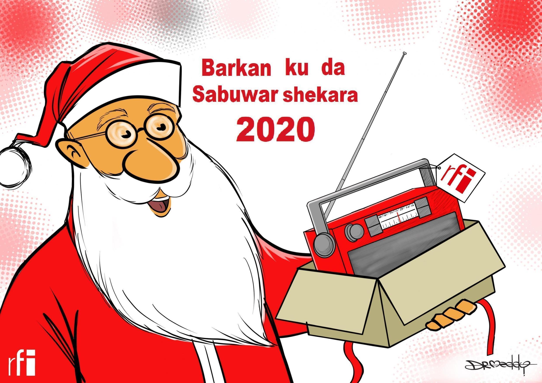 RFI na muku fatan alheri a sabuwar shekarar 2020  (26/12/19)