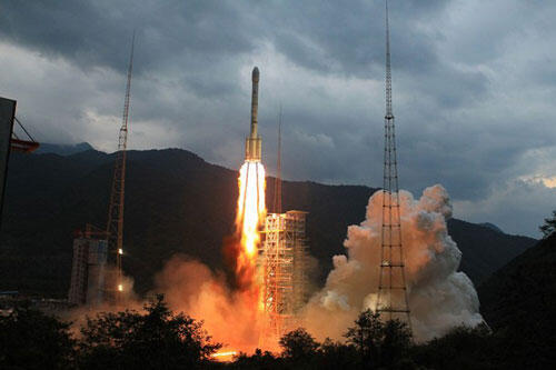 存档图片:中国长征火箭