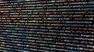 Code informatique programme hack hackeur