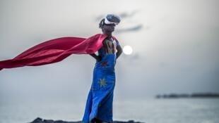C'est la photo qui a été choisie en affiche du Festival de Lagos qui a lieu en ce moment au Lagos, au Nigéria