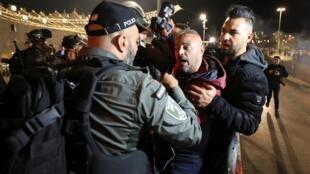 Violence Porte de Damas Jérusalem Est
