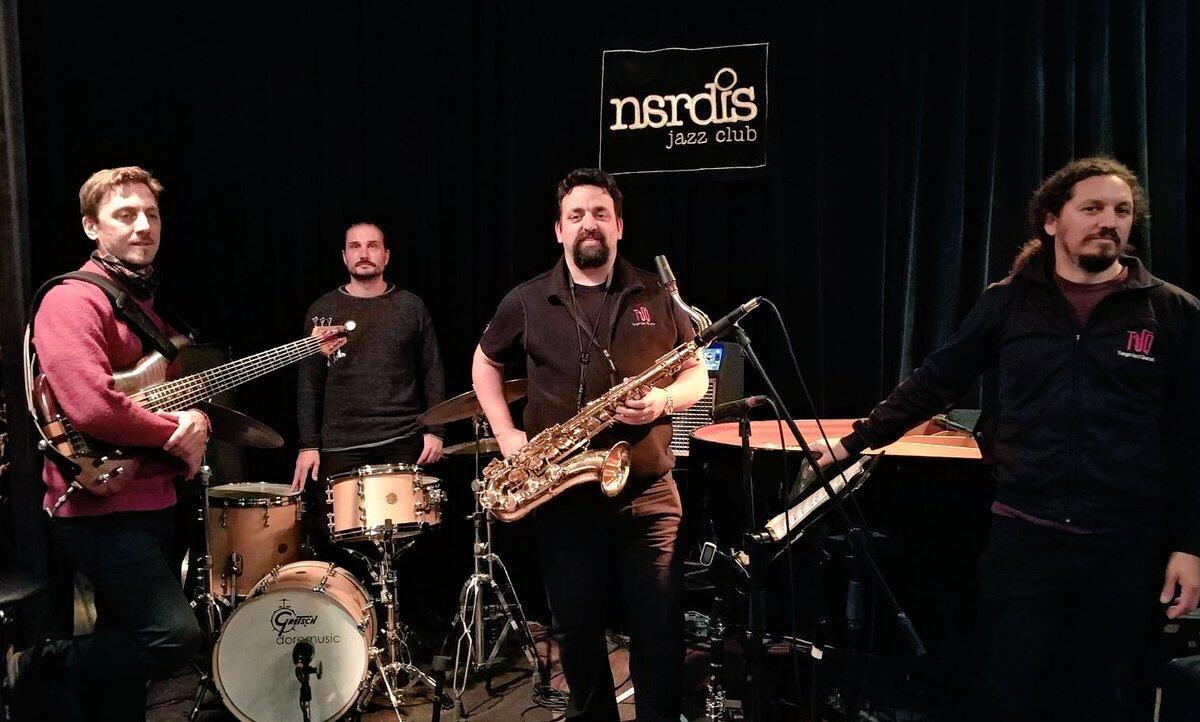 El Tango Jazz Quartet  al completo