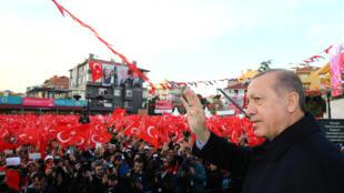 土耳其总统埃尔多安资料图片