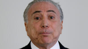 O presidente do Brasil, Michel Temer
