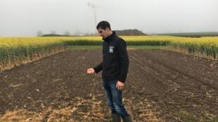 Avec la Chambre d'agriculture luxembourgeoise, Alain Majerus porte le projet EFFO qui vise à trouver comment continuer à cultiver du colza sans polluer les eaux souterraines.