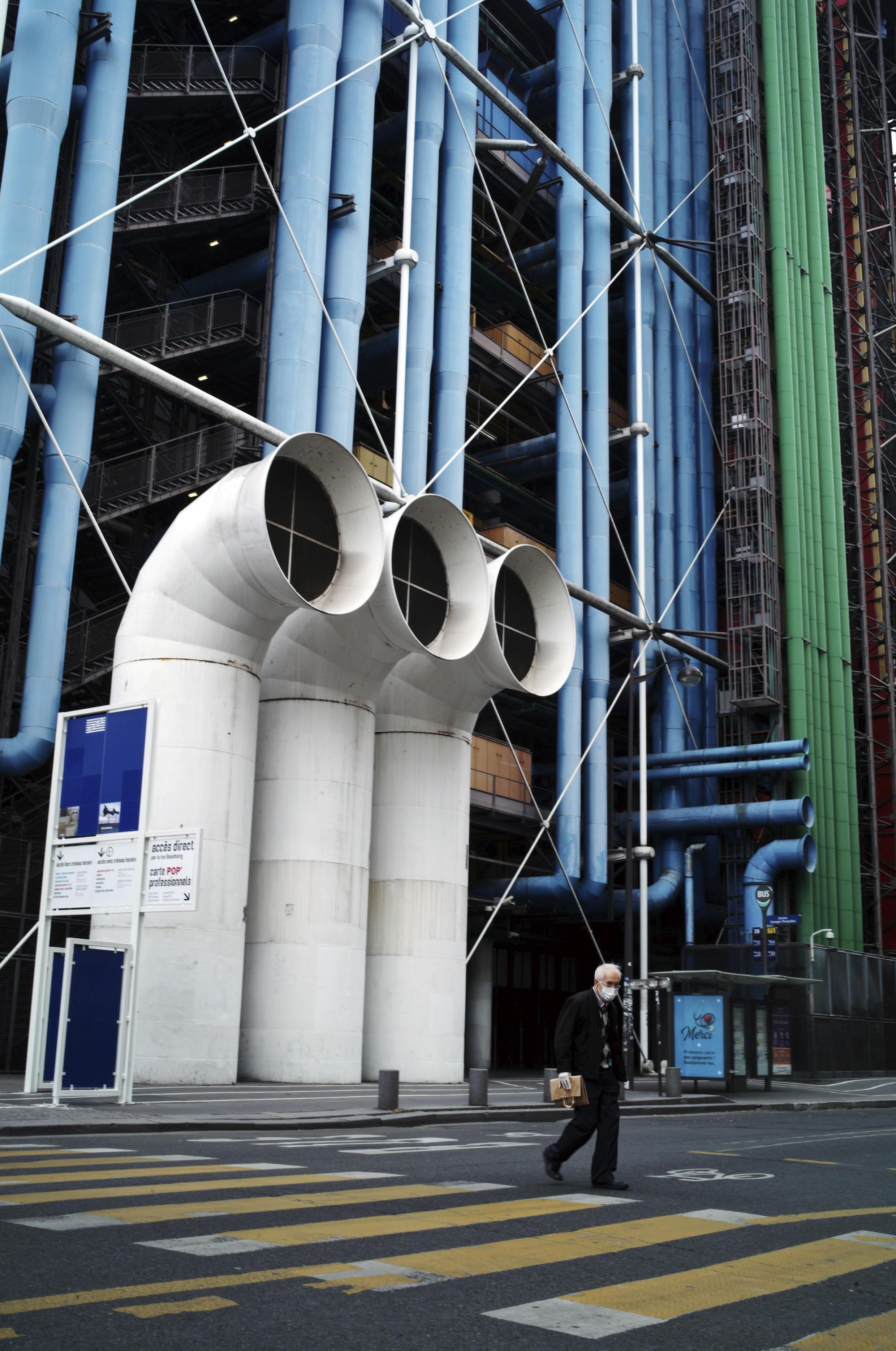 France - Paris - Centre Pompidou - Beaubourg - AP20119472312789