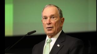 مایکل بلومبرگ، شهردار سابق نیویورک و مدیر موسسه اقتصادی بلومبرگ - تصویر آرشیوی