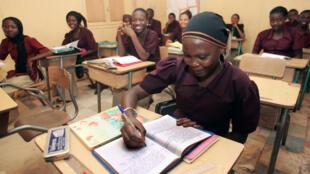 Salle de classe au Niger.
