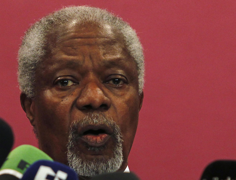 Спецпредставитель ООН и ЛАГ по Сирии Кофи Аннан