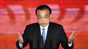 图为中国国务院总理李克强2019年10月9日于北京