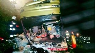 В Польше автобус с украинскими туристами упал с обрыва. Погибли три человека