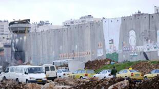 Taxis palestiniens à Ramallah (photo d'illustration).