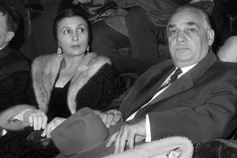 Роза и Жозеф Буглион, 8 января 1963.