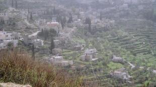 Le village de Battir.