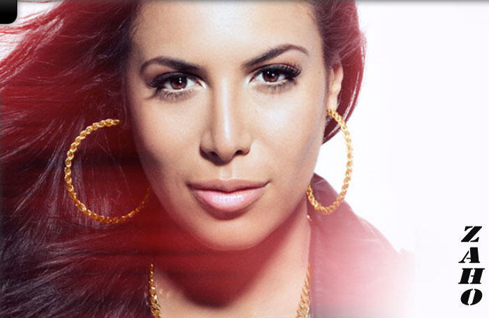 Zahera Darabid, dite Zaho, chanteuse algérienne de RnB.
