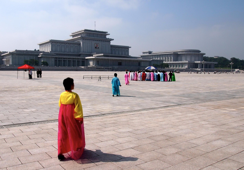 Lăng Kim Il-Sung ở Bắc Triều Tiên.