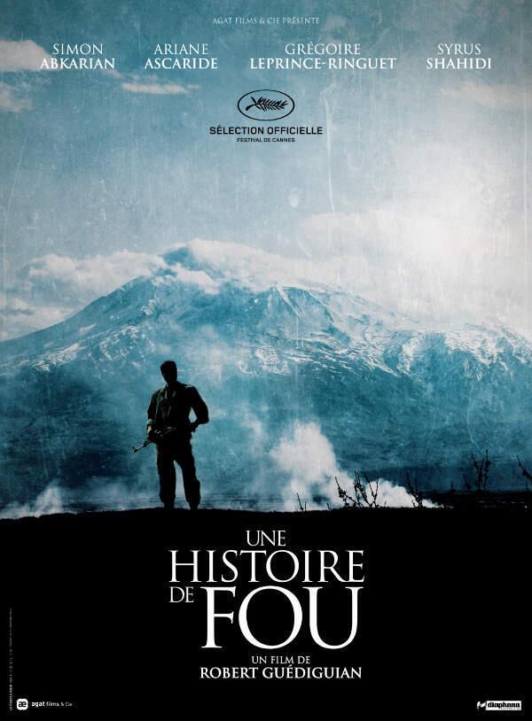 Poster of 'Une histoire de fou' by Robert Guédiguian
