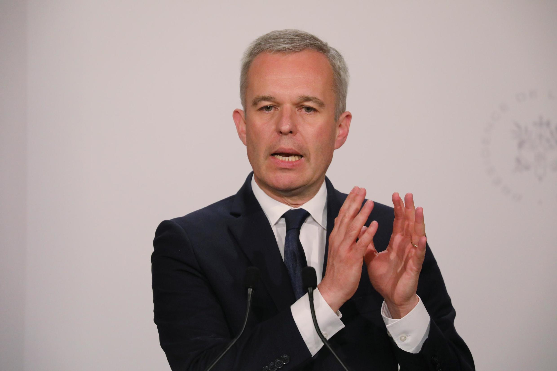 François de Rugy, ministre français de l'Écologie et ancien président de l'Assemblée nationale.