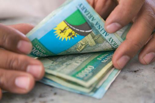 La monnaie malgache est l'ariary.