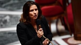 La ministre des Sports Roxana Maracineanu lors d'une séance de questions au gouvernement, le 26 mai 2020, à l'Assemblée nationale à Paris