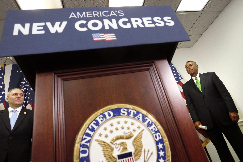 Os republicanos assumirão nesta terça-feira(6) a maioria no Congresso dos Estados Unidos.