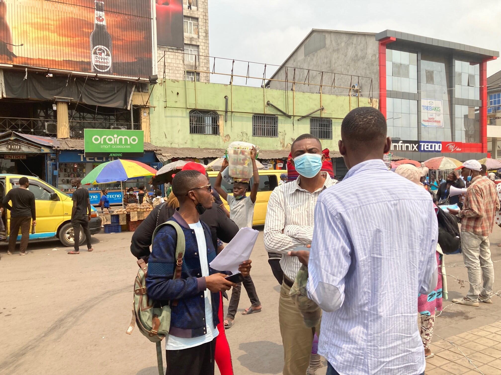 Deux militants de la Lucha - RDC - Kinshasa