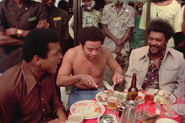 Mohamed Ali, Bill Withers, Don King.