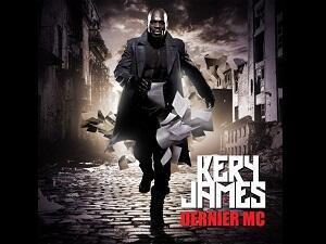 La couverture du nouvel album de Kery James, Dernier MC.