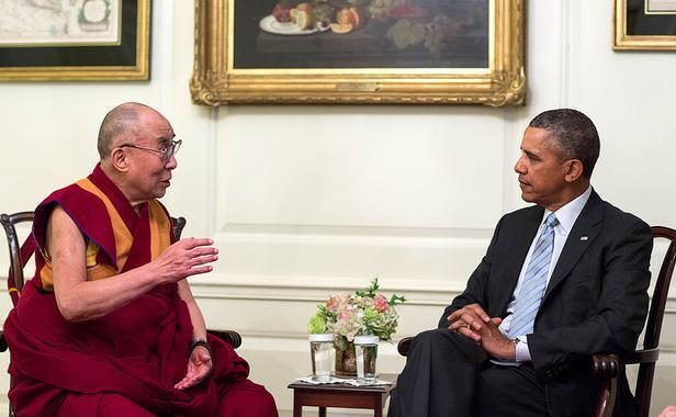 Tổng thống Obama tiếp đón Đạt Lai Lạt Ma tại Nhà Trắng