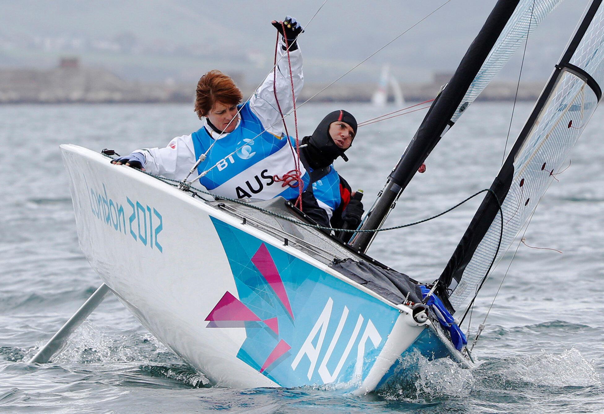 A  atleta  paralímpica Liesl Tesch (esquerda) foi assaltada neste domingo(19), no Rio de Janeiro.