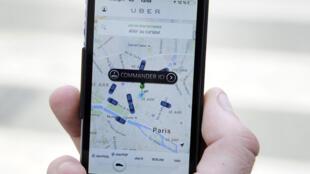 Приложение UberPOP предлагало пользователям воспользоваться услугами частных водителей на собственных автомобилях