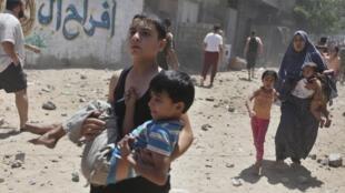 Vinte e oito palestinos morreram nesta terça-feira (8) na Faixa de Gaza nos bombardeios lançados por Israel.