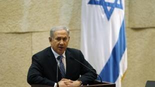 Benjamin Netanyahu, primeiro-ministro de Israel, quer destruir as usinas nucleares iranianas.