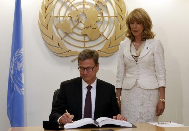 Allemagne - le ministre des Affaires étrangères : Guido WESTERWELLE
