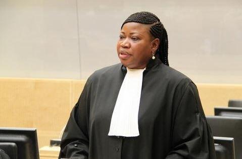 Fatou Bensouda, mwendesha mashtaka mkuu wa mahakama ya ICC.