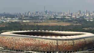 O estádio Soccer City, em Johannesburgo.