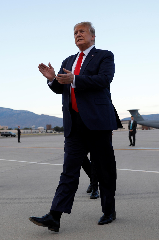 美國總統特朗普。